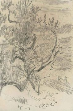 Pierre Bonnard drawing Pierre Bonnard, Landscape Drawings, Paul Gauguin, Art Moderne, Henri Matisse, Van Gogh, Cool Drawings, Les Oeuvres, Sculpture Art