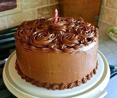 Classic Chocolate Birthday Cake!