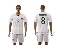 http://www.xjersey.com/201516-usa-8-dempsey-home-jersey.html 2015-16 USA 8 DEMPSEY HOME JERSEY Only $35.00 , Free Shipping!