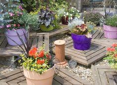 Faire durer ses potées fleuries  Des floraisons tout au long de l'année ou presque, c'est possible. Formes, couleurs et associations égaient sans fin le balcon ou la terrasse.