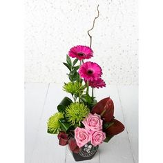 1000 Images About Foam Flower Arrangement On Pinterest