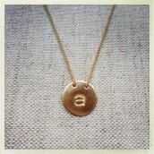 Luna Initial Necklace NEW And simply beautiful. Initial Necklace, Gold Necklace, Pendant Necklace, Jewelry Shop, Fine Jewelry, Jewellery, Simply Beautiful, Initials, Feminine