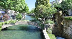 Roue d'Avignon, Quai Rouget de l'Isle à L'Isle sur la Sorgue © OTI PSMV
