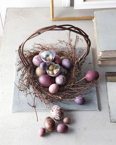 Can't believe we're thinking Easter baskets already, but this one is too gorgeous not to share. Kevin Sharkey, you slay us.