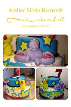 Pokemon cake Pokemonkake Bolo Pokemon Pokemon Cakes, Sugar Paste, Novelty Cakes, Toy Chest, Fondant, Kids, Children, Sugar Pie, Fondant Icing