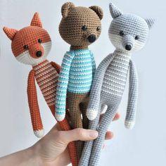 Un tapis renard en crochet - Marie Claire Idées