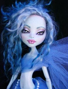 Monster High Doll Repaint