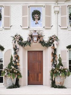 ... Front Door For Christmas. See More. Dutch Floral Designer Pieter  Landman Offers Tips For Holiday Floral Arrangements Using Unexpected  Materials.