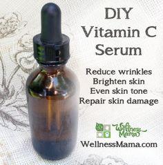 C Serum. serum for anti-aging. private label vitamin C serum Creme Anti Age, Anti Aging Cream, Anti Aging Skin Care, Natural Skin Care, Natural Face, Natural Herbs, Homemade Skin Care, Diy Skin Care, Homemade Beauty
