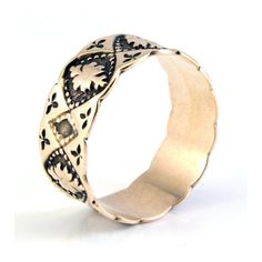 Rare Antique Victorian Rose Gold Eternity Wedding Band Ring Antique Wedding Bands, Victorian Engagement Rings, Wedding Ring Bands, Groom Ring, Cuff Bracelets, Bangles, Rare Antique, Rose Gold, Antiques