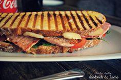 Recetas de una Gatita Enamorada: Sandwich de Lomo / Bocadillo para la Cena