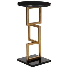Cassidy Accent Table Black, $219, now featured on Fab.