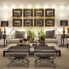 Quantos suspiros por essa Decor do Living Room ❤️ #decor | #referencia | #livingroom