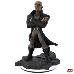 Disney Infinity 2.0 Figure: Nick Fury (Wave 1, Spider-Man Play Set, Sold Separately)