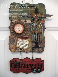 Love Tim Holtz's designs. this is cool!