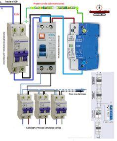 Electrical diagrams: PORTECTOR DE SOBRETENSIONES
