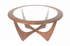 Mid Century Modern Round G Plan Astro Coffee Table #2