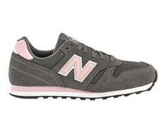 New Balance 373 Femme Classiques Chaussures Grise Lumière Rosa