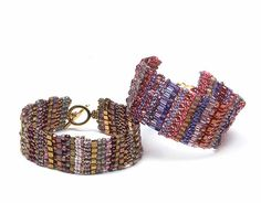 Bead and Button Magazine Freebie - Brick Stitch Bracelet Tutorial. Enter your email and receive the tutorial. Note, you will also be added to their email listing but you can always opt out