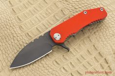 Medford 187 Flipper Orange G10 Tactical Frame Knives