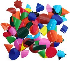 Gummed shapes, we used to use these to make picture in art at primary school I loved the colours and shapes, but the taste of the gum was awful :/