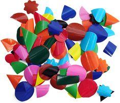 Gummed shapes