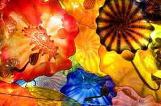 I'd love to try glassblowing. Chihuly is the master; Exhibition Hall | Chihuly Garden and Glass