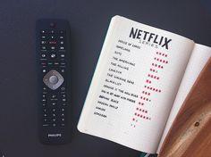 Simple minimal Netflix spread