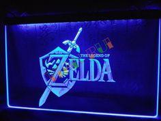 Legend of Zelda Video Game LED Neon Light Sign home decor shop crafts #Unbranded #Modern