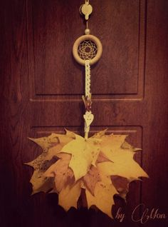 #fall #dreamcatcher #doordecor #withlove
