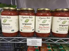 Organico Bello® is a line of organic pasta sauces and salsas made with 100% imported organic Italian tomatoes. All of our ingredients are certified USDA Organic, meaning you can enjoy our products with confidence and peace of mind.