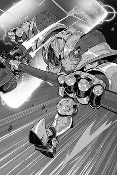 njike (@njikeartist) | Twitter Video Game Art, Video Games, Reinhardt Wilhelm, Character Art, Character Design, Overwatch Wallpapers, Starcraft 2, Overwatch Fan Art, Gundam Art