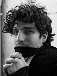 French actor Louis Garrel photographed by Stefano Galuzzi and styled by Emil Rebek, for the latest coverstory of L'Officiel Hommes Italia.