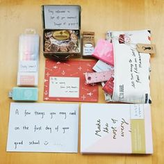 """The """"Good Luck On Your First Day"""" Care Package 