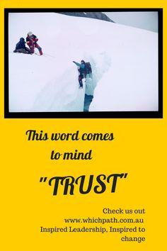 Trust......