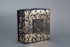 'Indulge' by Heston Blumenthal Cake-Mix Packaging on Behance