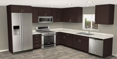 An early rendering by our digital artists of how your new kitchen can look.