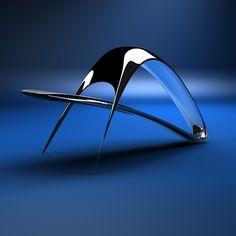 Parastoo Chair #design #pin_it @mundodascasas See more here: www.mundodascasas.com.br