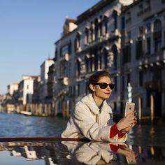 Sharing The Grand Canal, Venice with Jenny Jenny Walton #TheSartorialistItaly HotelDanieliItaly