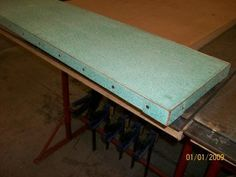6 - Small Verdegris Copper Bar Top