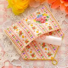 Seed Bead Patterns, Peyote Patterns, Beading Patterns, Beaded Purses, Beaded Bags, Beaded Jewelry, Perler Bead Designs, Seed Bead Projects, Beaded Crafts