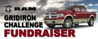RAM Gridiron Challenge, Oct 18th @ Vandalia High School.  Test drive a new RAM truck and earn $20 for the Vandalia Sports Boosters.  Sponsored by RAM and Hosick Motors.