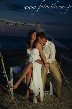 A sunset wedding photography and wedding photos #Lefkas #Ionian #Greece #wedding #weddingdestination Eikona Lefkada Stavraka Kritikos