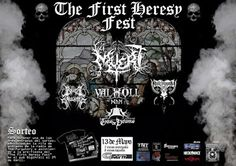 Long Live The Loud 666: THE FIRST HERESY FEST  WITH:MUERT,HATE LEGIONS,BRU...