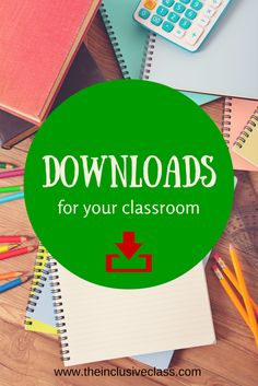 Downloads for the Classroom!