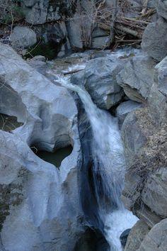 heart rock in Crestline, California