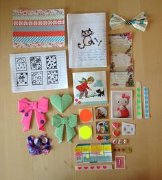 Great example to follow for a washi tape postcard----Snailmail Magazine (English blog): Search results for jantina