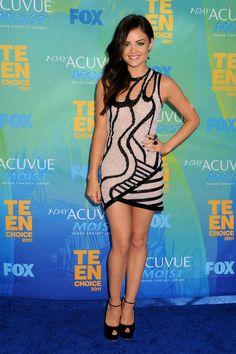 Lucy Hale Teen Choice Awards 2011
