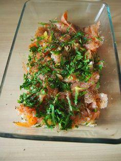 Makaron zapiekany z wędzonym łososiem Seaweed Salad, Japchae, Ethnic Recipes