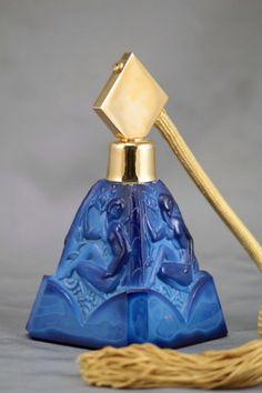 Perfume Bottles Etc. - Perfume Bottles, Perfume Atomizers By Hoffman, Ingrid, DeVilbiss, Pyramid and Volupe